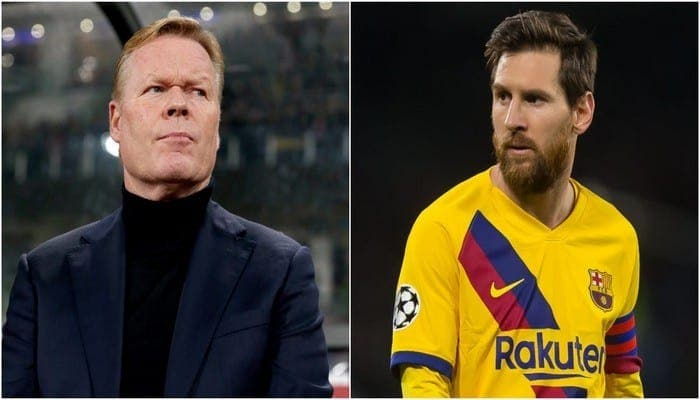 Barça : Messi très en colère après son entretien avec le nouveau coach!
