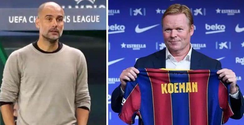 Barça: Pep Guardiola réagit à la nomination de Ronald Koeman