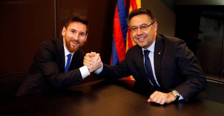 Barcelone : Messi doit s'expliquer publiquement selon Bartomeu !