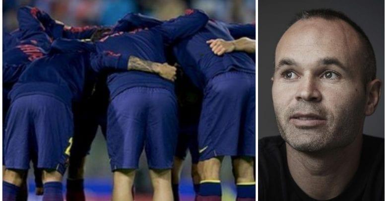 Barcelone : le magnifique message d'Iniesta qui rassure les fans !