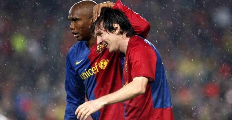 Barcelone : le message de Samuel Eto'o à Lionel Messi !
