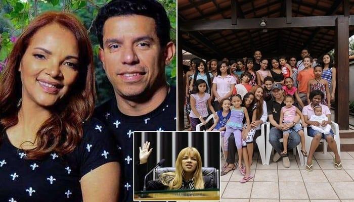 Brésil : la députée aux 50 enfants accusée d'avoir fait assassiner son mari