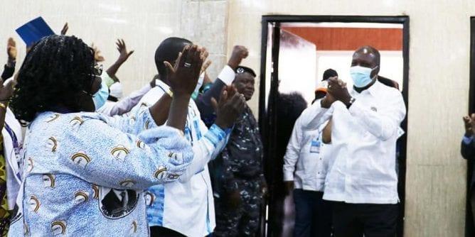 Coup d'État au Mali : clôture du sommet des chefs d'État de la CEDEAO (video)