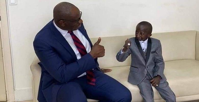 Grand P reçu par le conseiller du Premier Ministre ivorien