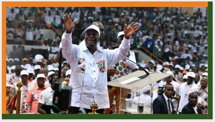 Côte d'ivoire: Alassane Ouattara tacle les opposants lors de son investiture