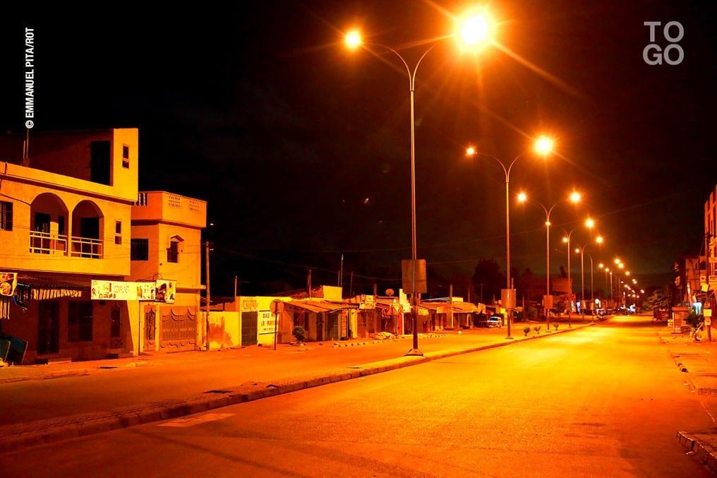 Covid-19 : couvre-feu et bouclage de trois villes au  Togo