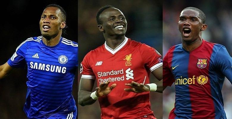 Découvrez les 10 footballeurs les plus riches d'Afrique, les places d'Eto'o Drogba, Salah et Sadio Mané révélées