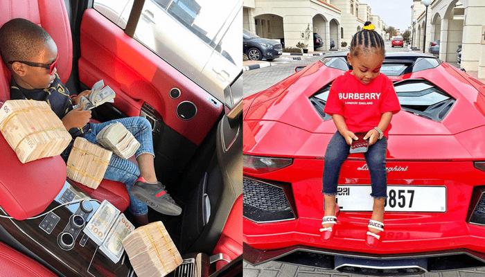 Découvrez les 9 enfants les plus riches du Nigeria (photos)
