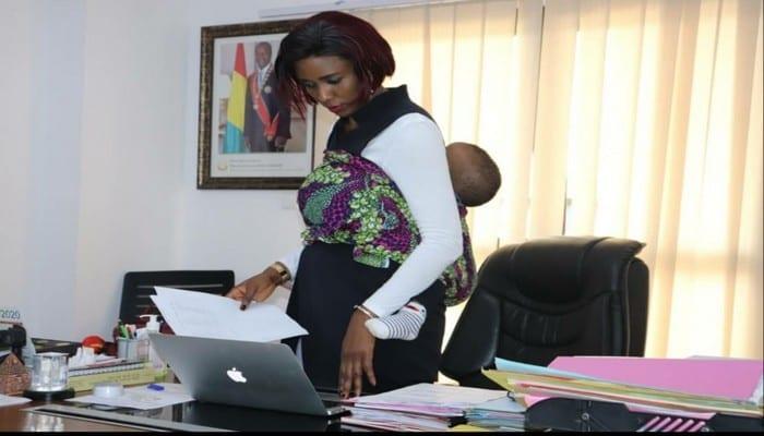 Guinée : cette image de la cheffe de cabinet du ministère