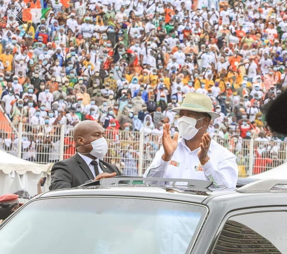 3e mandat: Alassane Ouattara investi officiellement