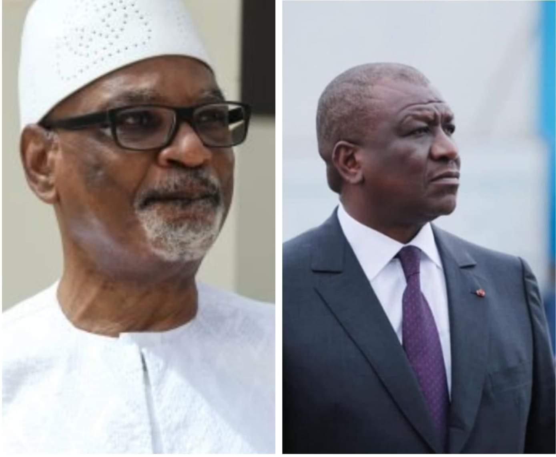 Ibrahim Boubacar Keita a t-il demandé l'aide de Hamed Bakayoko juste avant son arrestation ?