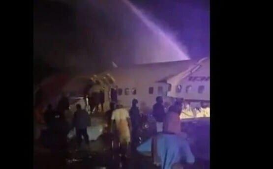 Inde : Un avion s'écrase lors d'un atterrissage