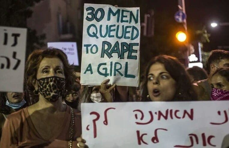 Israël : Une jeune de 16 ans violée par 30 hommes