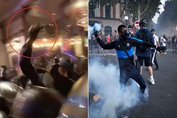 LDC : violentes émeutes en France après la défaite du PSG – (vidéo)