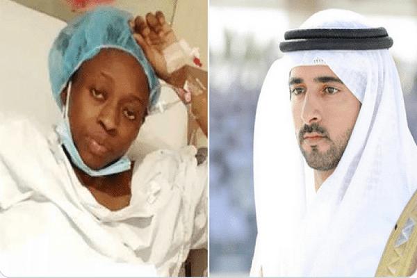 Le prince héritier de Dubaï paie les factures d'hôpital d'une nigériane bloquée dans le pays avec ses quadruplés