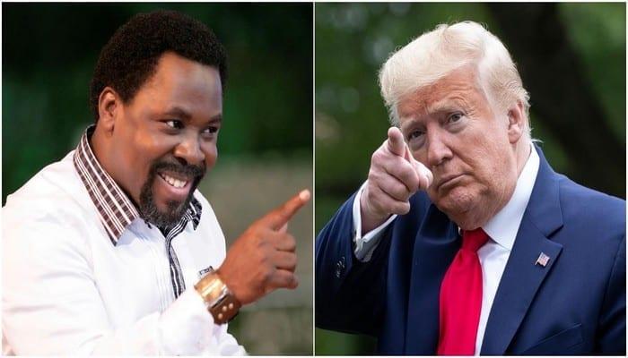 Le prophète nigérian, TB Joshua fait une prophétie pour le président américain Donald Trump
