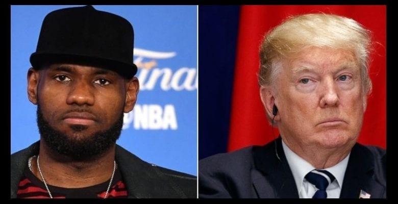 LeBron James répond sèchement à Trump qui dit avoir éteint la télé en voyant les Lakers s'agenouiller
