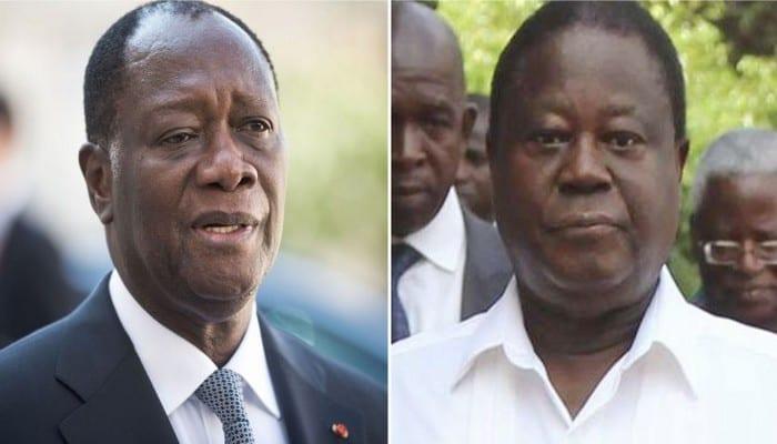 Les tensions montent entre Ouattara et son ex allié Bédié