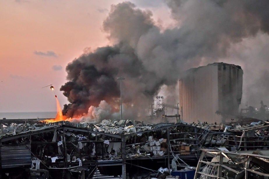 Liban : 2750 tonnes de nitrate d'ammonium sont à l'origine de l'explosion