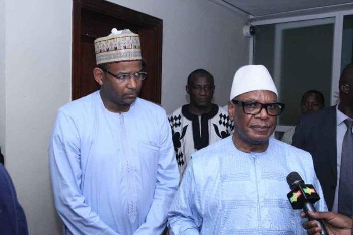 URGENT; Mali : Le président Ibk et son Premier Ministre aux mains des mutins