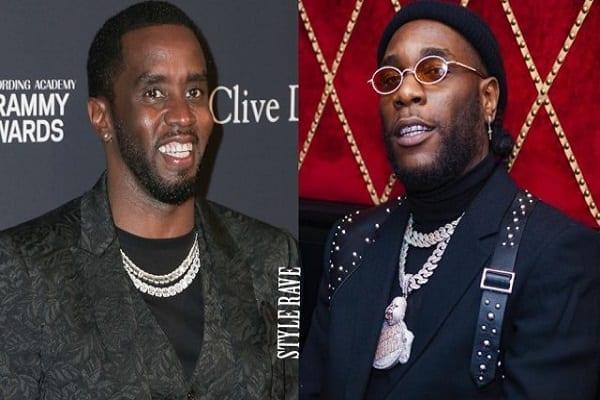 P. Diddy : son message aux Africains après sa collaboration avec Burna Boy
