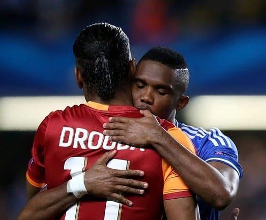 Samuel Eto'o affiche un soutien inconditionnel au candidat Didier Drogba