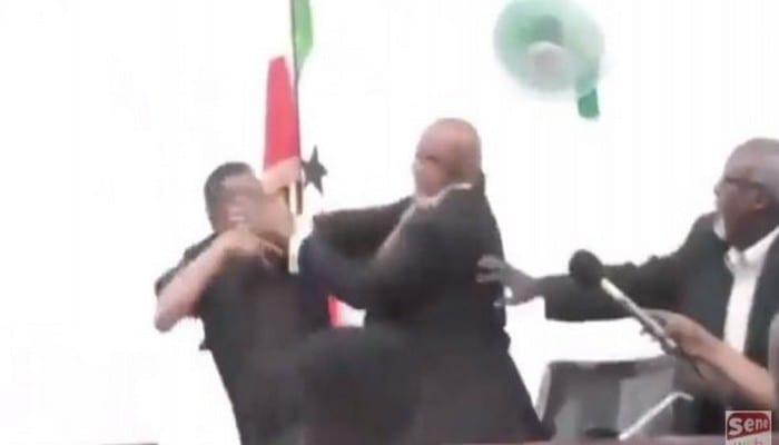 Somalie: violente bagarre entre le président de la République et le président de l'Assemblée nationale-Vidéo