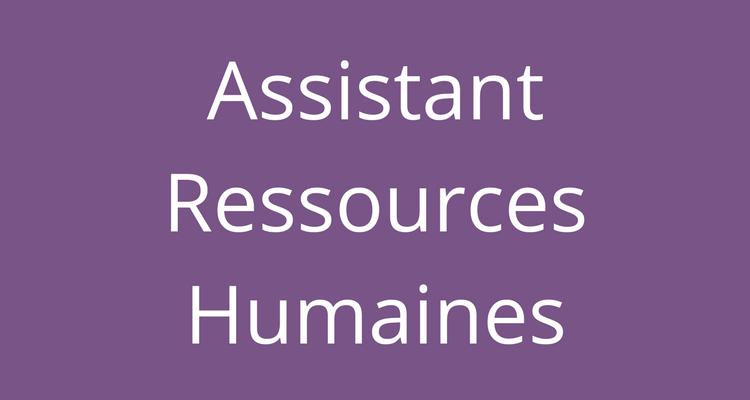 Recrutement Pour Assistants(es) RH