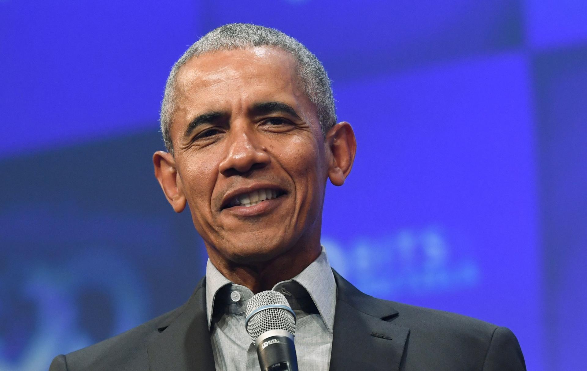 Barack Obama demande aux Américains de tourner la page Trump