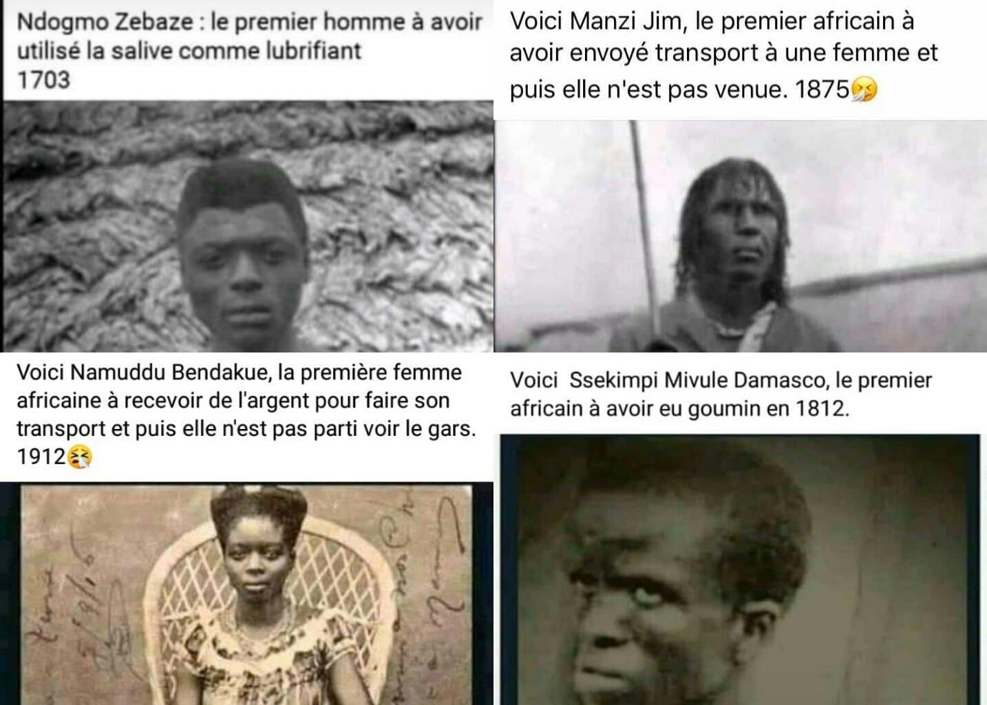 Afrique : les photos des ancêtres font objet de moquerie sur les réseaux sociaux