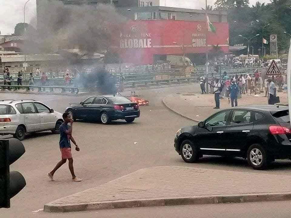 Côte d'Ivoire: Une manifestation pro-Gbagbo dégénère en affrontements violents