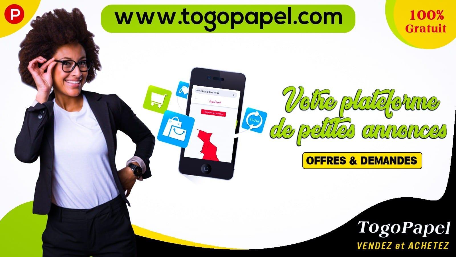 Togopapel.com, une plateforme de vente et d'annonces gratuites