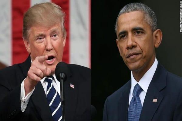« Il n'a pas été un grand président » : Donald Trump tacle Barack Obama (vidéo)