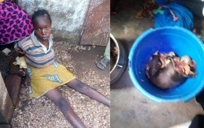 Affamée, cette mère prépare son bébé de 6 mois