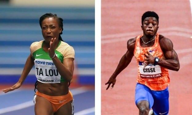 Sprint : les Ivoiriens Cissé Gué Arthur et Ta Lou Marie-Josée, victorieux