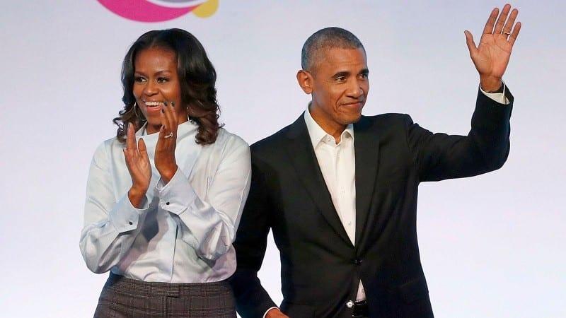 Barack et Michelle Obama sont les personnalités les plus adulées au monde