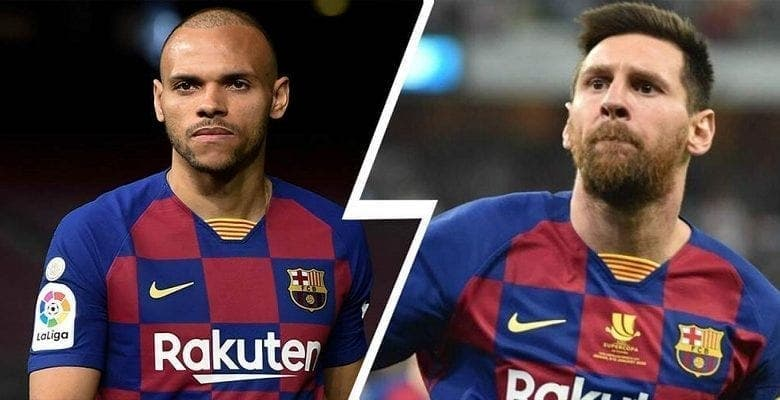 Barça: Martin Braithwaite a-t-il vraiment demandé le numéro 10 de Messi? le joueur répond !