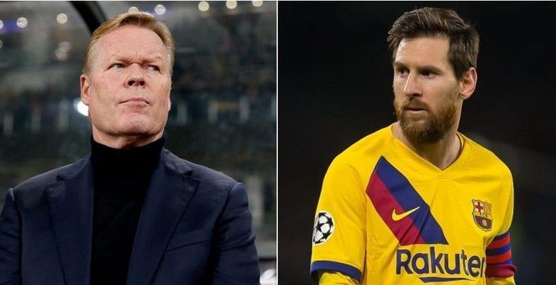 Barça : la promesse de Messi à Ronald Koeman pour cette nouvelle saison