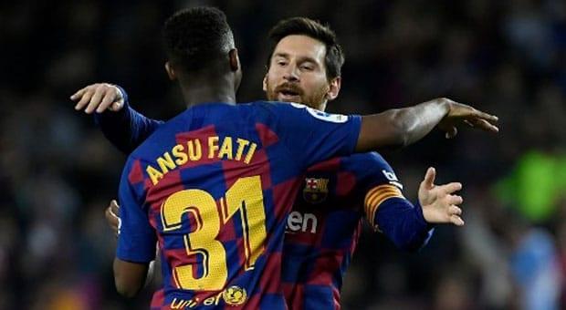 Barcelone : Ansu Fati, le futur «Messi» ?