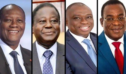 Côte d'Ivoire : la liste des candidats retenus pour l'élection présidentielle connue