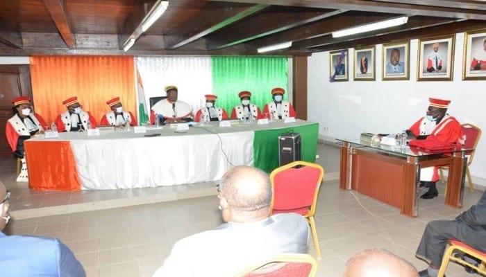 Côte d'Ivoire / Election présidentielle: très attendu à la CEI pour prêter serment, le représentant du PDCI-RDA brille par son absence