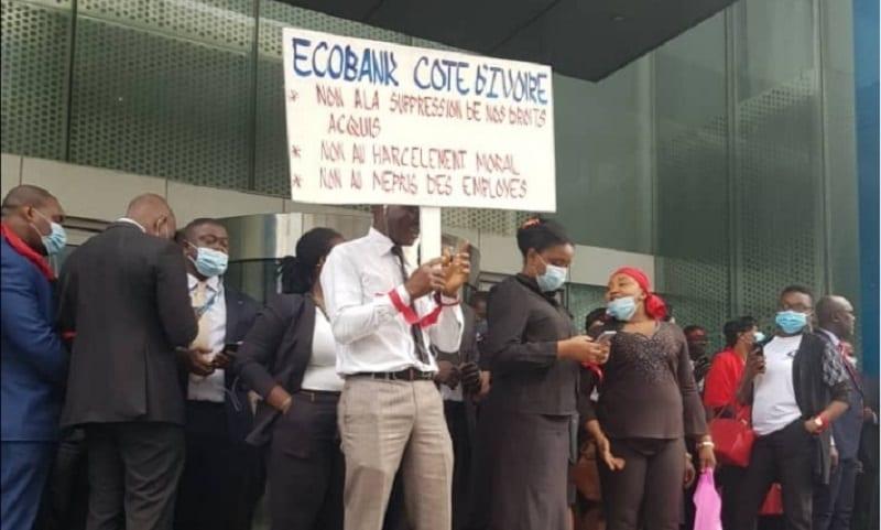Côte d'Ivoire / Grève des travailleurs d'Ecobank : voici la réaction de la direction générale