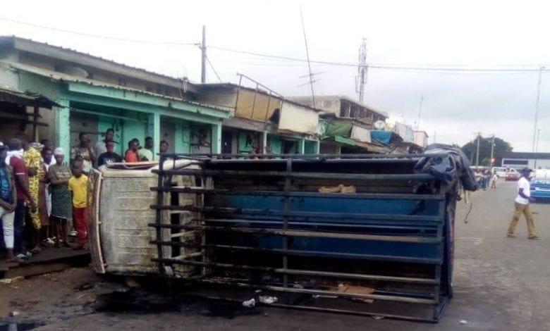 Côte d'Ivoire/ Yopougon : un véhicule de la gendarmerie incendié par des individus non identifiés !