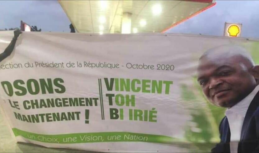 Côte d'Ivoire : Vincent Toh Bi Irié, candidat à la  présidentielle?(Vidéo)