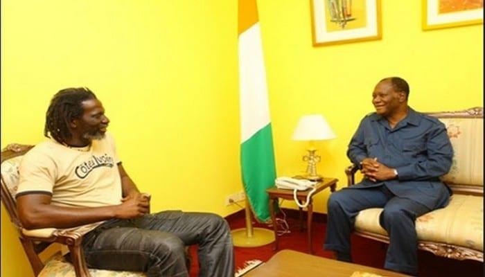 Election présidentielle en Côte d'Ivoire : Tiken Jah Fakoly explique enfin son silence