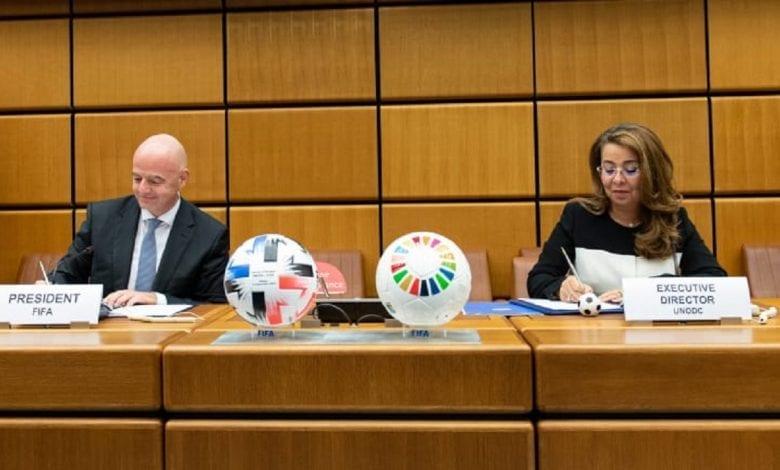 La FIFA s'associe à l'ONU pour éradiquer la corruption par le football