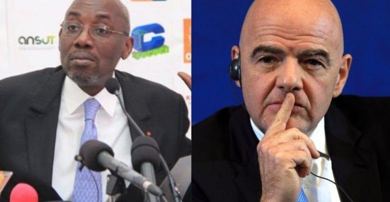 """Fonds d'aide """"Covid-19"""" : Sidy Diallo réclame plusieurs millions de FCFA à Infantino !"""
