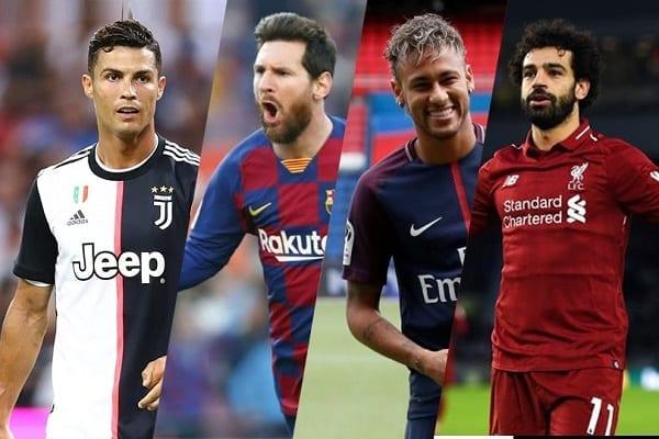 Forbes: voici le top 10 des footballeurs les mieux payés en 2020. Kylian Mbappé est 4e