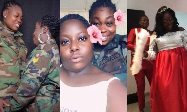 Ghana: un couple de lesbiennes militaires détenu après leur mariage et convoqué devant une Cour martiale-VIDEO