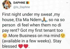 Cameroun : Daphné construit sa propre maison
